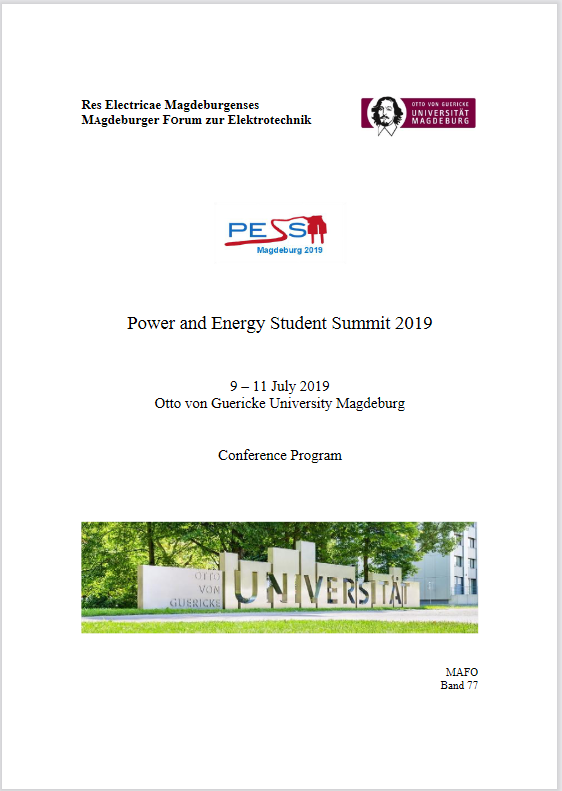 Ansehen Bd. 77 (2019): Wolter, Martin (Hrsg.): Power and Energy Student Summit 2019